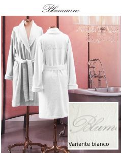 Blumarine Croisette Medium Bianco Bathrobe