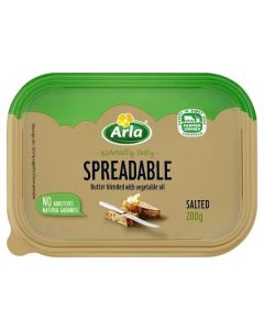 Arla Spreadable Salted Butter 200g