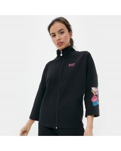 ARMANI- BLACK TRACKSUIT FOR WOMAN