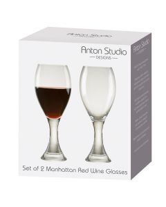 Anton Studio MANHATTAN Red Wine Glasses