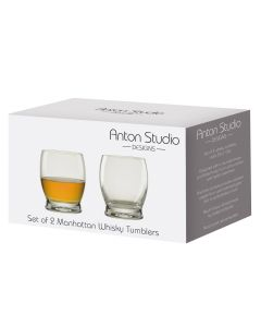 Anton Studio MANHATTAN Whisky Glasses
