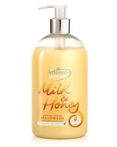 Astonish Milk And Honey Anti Bacterial Handwash 500ml