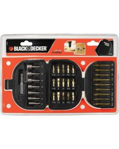 Black & Decker 32 Pieces Screwdriver & Nutdriver Set, A7094-xj