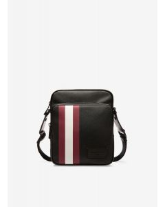 BALLY- SEBERT OF /06- MEN CROSS BODY BAG- BLACK