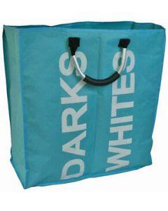 Blue Canyon Large  Sturdy Double Laundry Bag-Blue