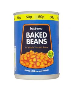 BEST ONE BAKED BEANS 410G (x 2pcs)