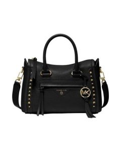 Carine Small Leather Satchel