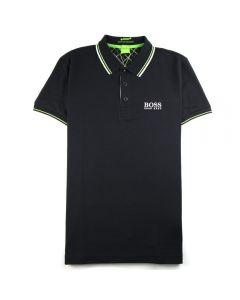 Boss Paddy Pro Short Sleeve Polo Black