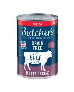 BUTCHERS BEEF/LIVER 400G