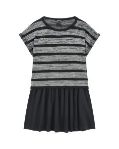 DKNY  Cotton dress and fancy T-shirt
