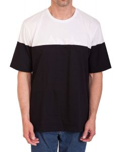 CANALI- WHITE & BLACK COTTON T-SHIRT