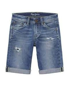 PEPE JEANS- CASHED ISLAND M/B PEPE JEANS- CASHED ISLAND M/B COTTON SHORT SHORT