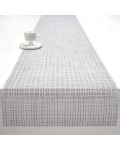 Chilewich Lattice Table Runner- Silver