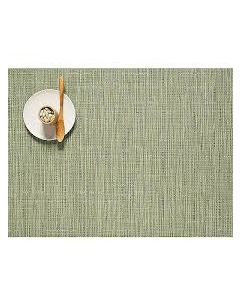 CHILEWICH BAMBOO TABLE MAT 14*19- SPRING GREEN