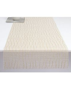 CHILEWICH LATTICE TABLE RUNNER 14*72-GOLD