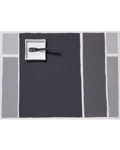 CHILEWICH MAPTONE TABLE MAT 14*19- STONE