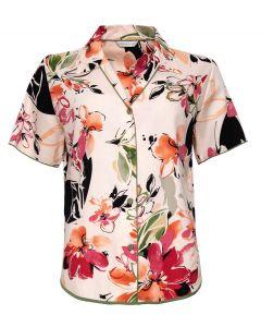 Cyber Jammies natalie floral print pyjama top
