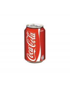 Coke can 33 cl (x 6 cans)