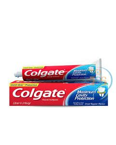 COLGATE MAXIMUM CAVITY PROTECTION FLORIDE TOOTHPASTE