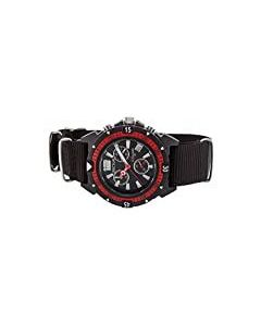 SECTOR EXPANDER 90 CLOTH STRAP WATCH BLACK/RED