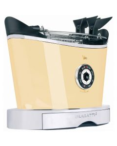 BUGATTI VOLO TOASTER UK PLUG- CREAM