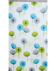 BLUECANYON DANDELION POLYESTER WATERPROOF SHOWER