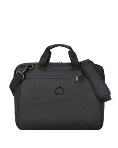 DELSEY ESPLANADE 1C SATCHEL PC 15.6- DEEP BLACK
