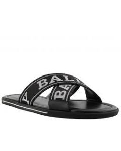 BALLY Bonks logo strap sandals