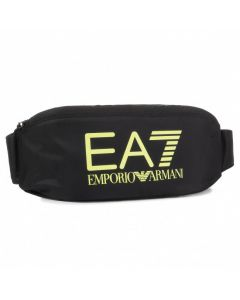 EMPORIO ARMANI- MEN BELT BAG- BLACK+YELLOW