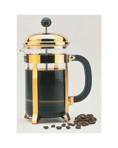 ELIA- CAFETIERE 8CUP COFFEE MAKER- GOLD