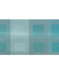Chilewich Engineered Squares Azure