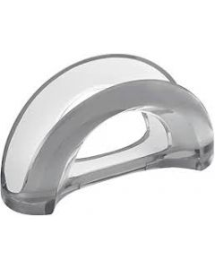 GUZZINI- TWO-TONE TABLE NAPKIN HOLDER- GREY