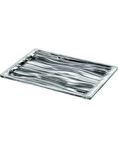 GUZZINI RECTANGULAR TRAY MEDIUM - CHROME