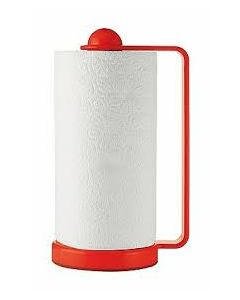 GUZZINI ADJUSTABLE PAPER TOWEL HOLDER-RED