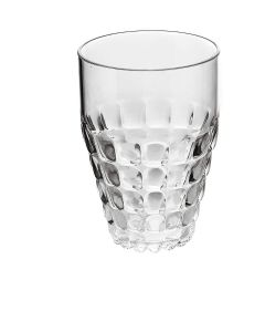 GUZZINI- TALL TUMBLER TIFFANY- CLEAR
