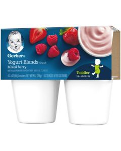 GERBER YOGURT MIXED BERRY 396G