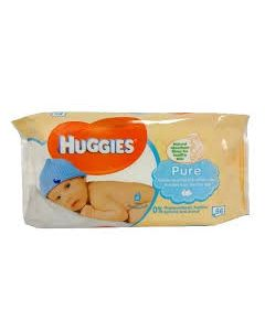 HUGGIES PURE WIPES 56PCS