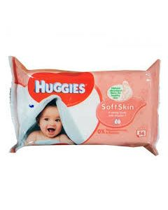 HUGGIES SOFT SKIN WIPES 5