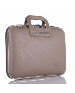BOMBATA FRIENZE-CLASSIC BRIEFCASE 17 INCHES-TAUPE
