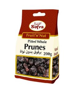 SOFRA WHOLE PRUNES 200G