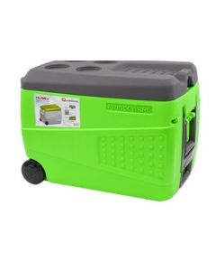 SQPROFESSIONAL HUSKY ICE BOX WITH WHEELS GREEN