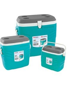 SQPROFESSIONAL CAMPMATE ICE CHEST SET 3PCS GREY& TURQOUISE
