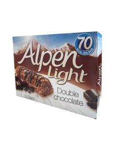 ALPEN LIGHT DOUBLE CHOCOLATE X3