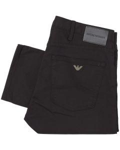 EMPORIO ARMANI Black J45 Slim Jeans