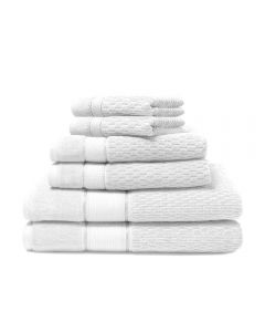 ROYALE BATH TOWEL 70*140 100%COTTON PLAIN WHITE