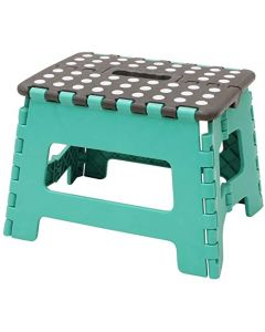 JVL- SMALL STEP STOOL  TURQUOISE