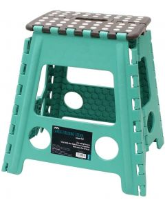 JVL- LARGE STEP STOOL  TURQUOISE
