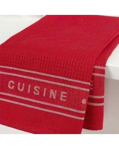LADELLE- PROFESSIONAL SERIES 2 RED KITCHEN TOWEL