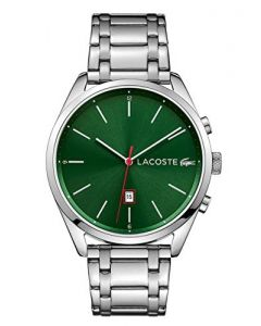 Lacoste Unisex-Adult Analogue Classic Quartz Watch with Stainless Steel Strap 2010961