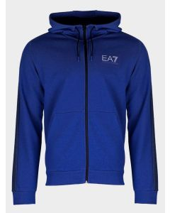 EMPORIO ARMANI- BLUE SWEAT SHIRT FOR MEN